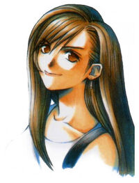 Tifa FFVII Portrait