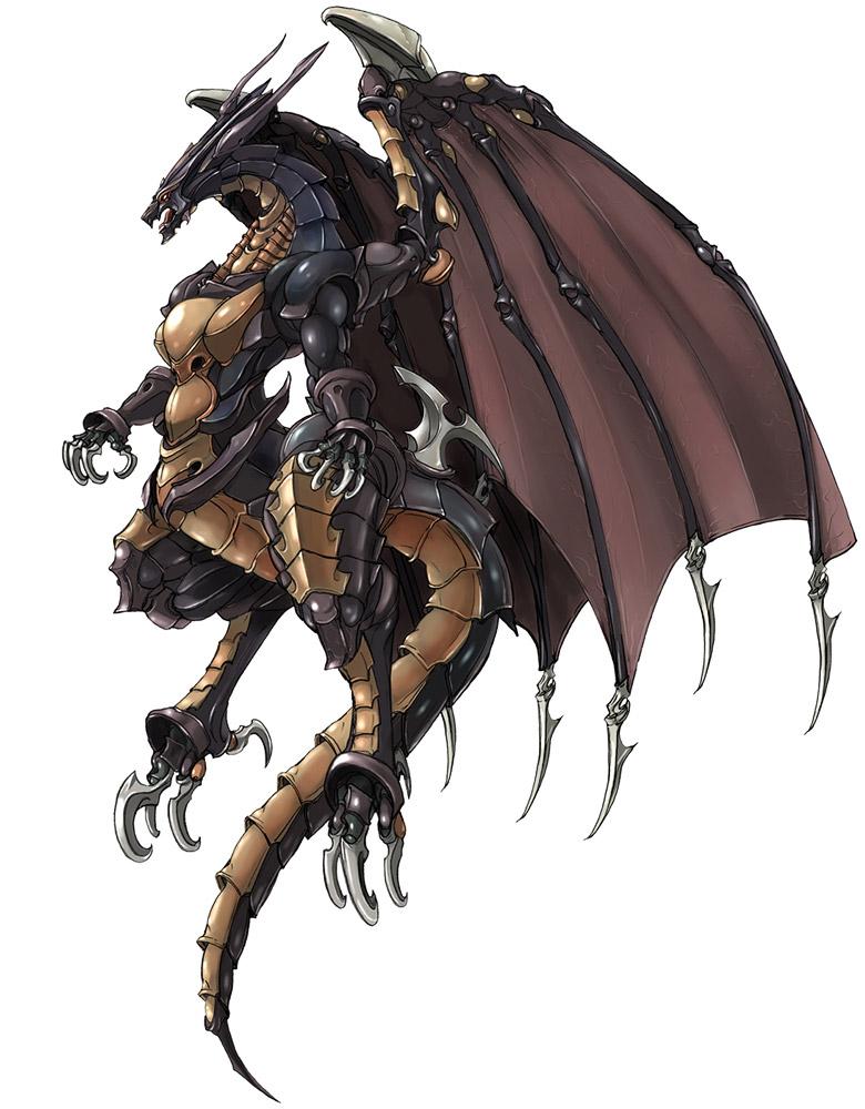 final fantasy 7 dragon