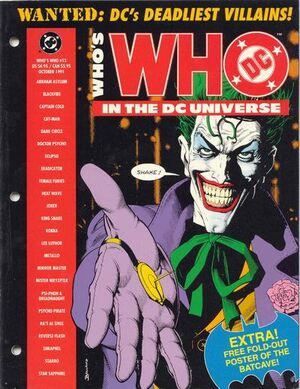 Cover for Who's Who in the DC Universe #13