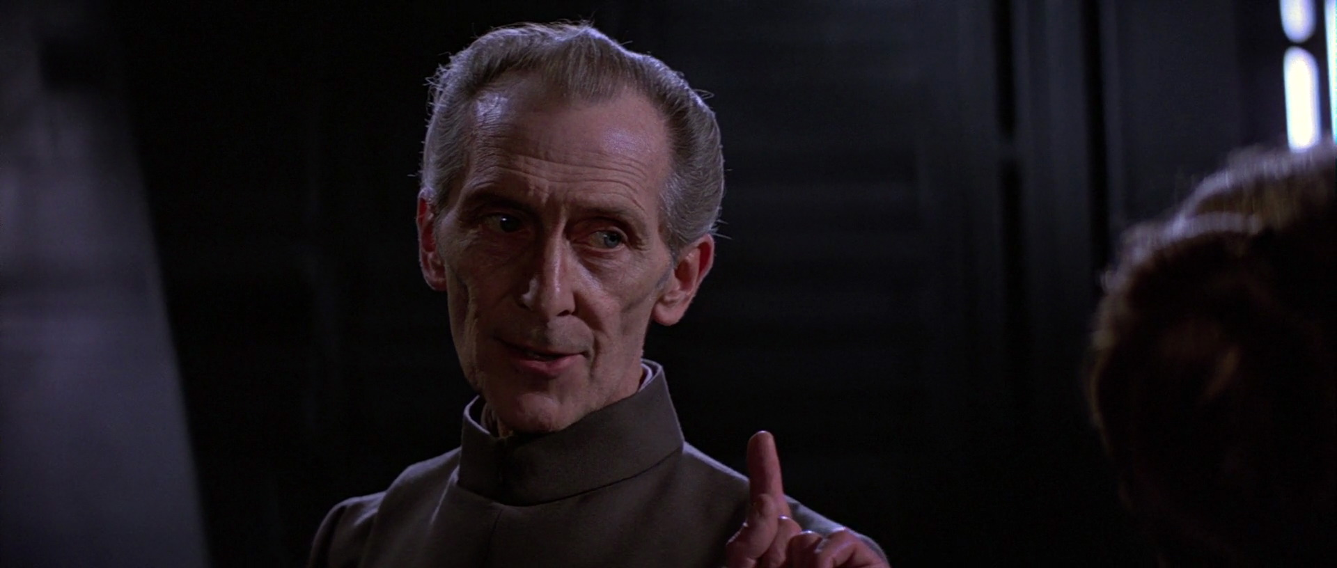 """Fear will keep the outer systems in line"" – Grand Moff Tarkin"