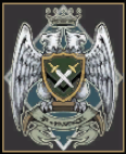 The silver falcons emblem