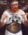 Terry Funk ECW World Heavyweight