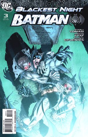 Cover for Blackest Night: Batman #3