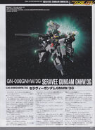 GN-008GNHW3G Seravee Gundam 00V