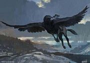 Flight of the Hippogriff (Concept Artwork for the HP3 movie)