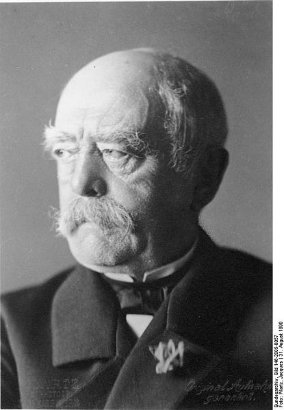 a history of the unification of germany by prussia and the success of otto eduard leopold von bismar Otto eduard leopold von bismarck was born on april 1, 1815, in a small burg near berlin though born on april fool's day, he was wise when it came to making a unified germany.