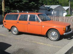 Orange-station-wagon