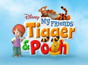 Winnie the Pooh - My Friends Tigger &amp; Pooh Logo