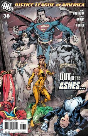 Cover for Justice League of America #38
