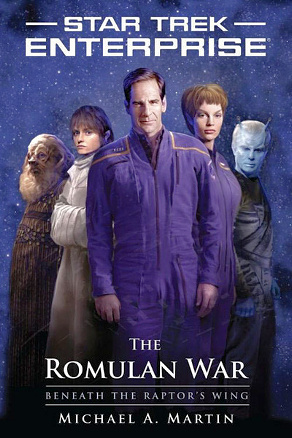 The Romulan War - Beneath the Raptor's Wing cover