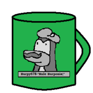 Burpy Monument Mug
