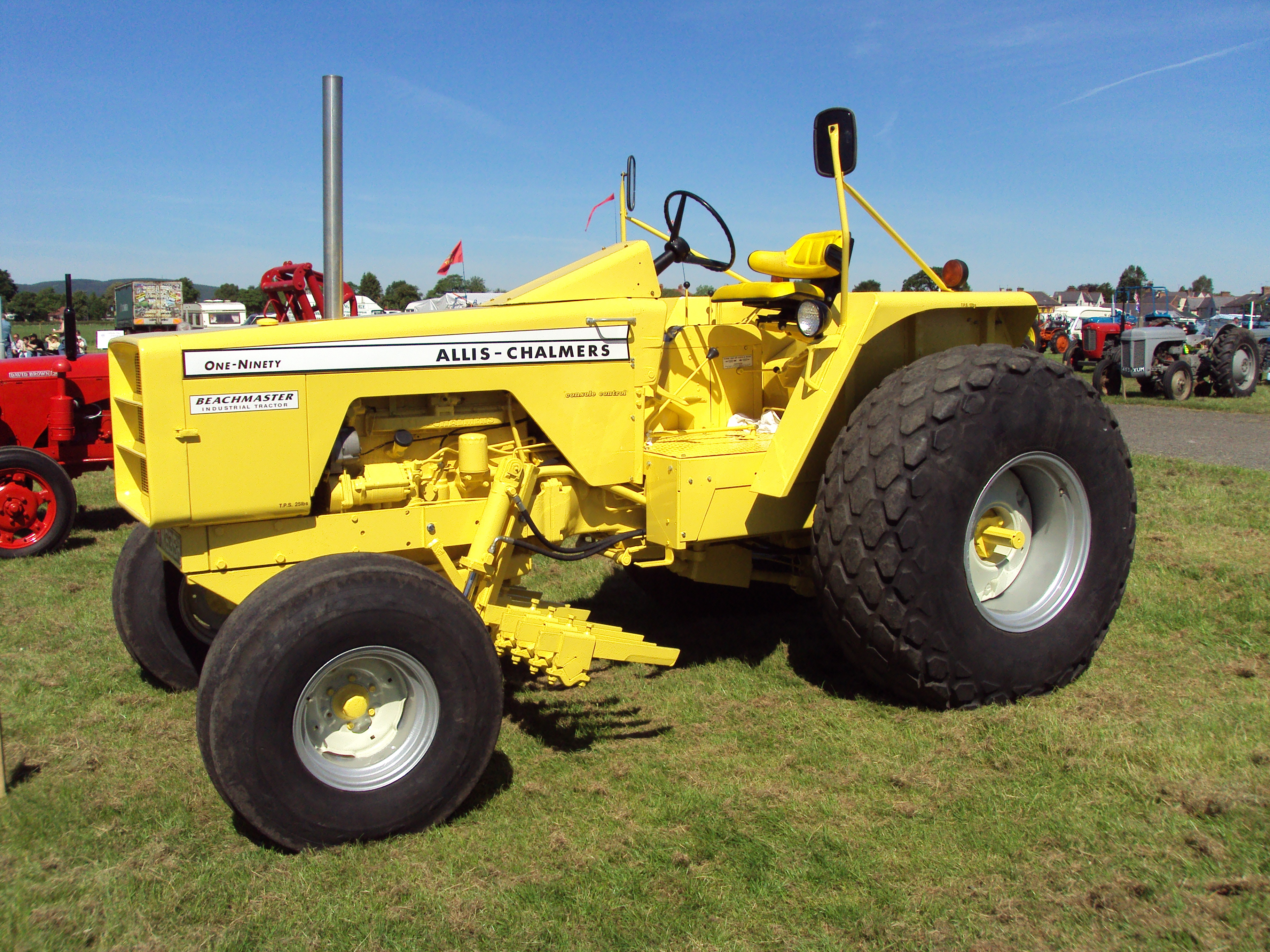 Allis-chalmers 190 - Tractor  U0026 Construction Plant Wiki