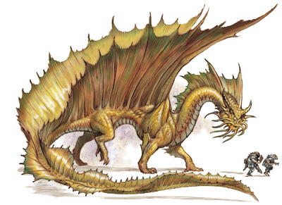 Gold-dragon