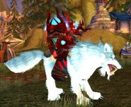 Arctic Wolf mount