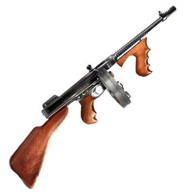 machine gun mobster