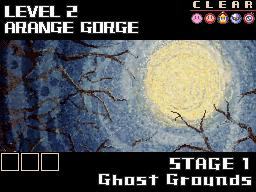 Ghost grounds level select