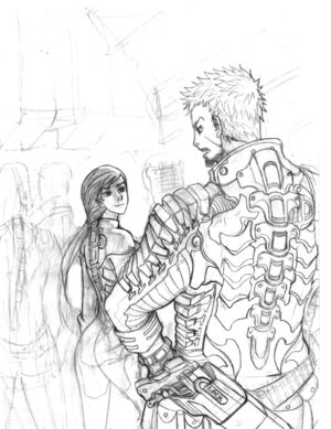 Dead Space Better Days WIP by DeadXCross