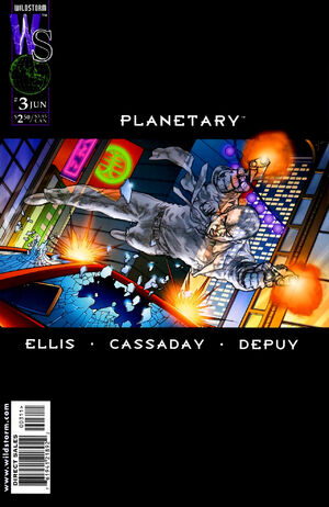 Cover for Planetary #3