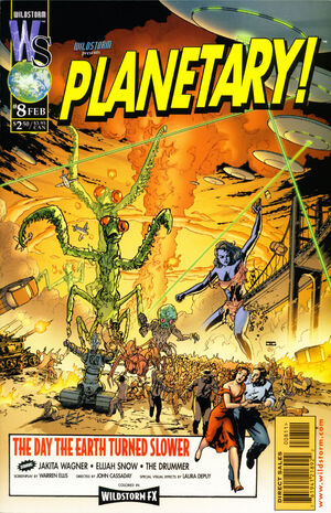 Cover for Planetary #8
