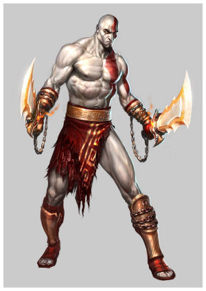 Your video game Avengers Kratos