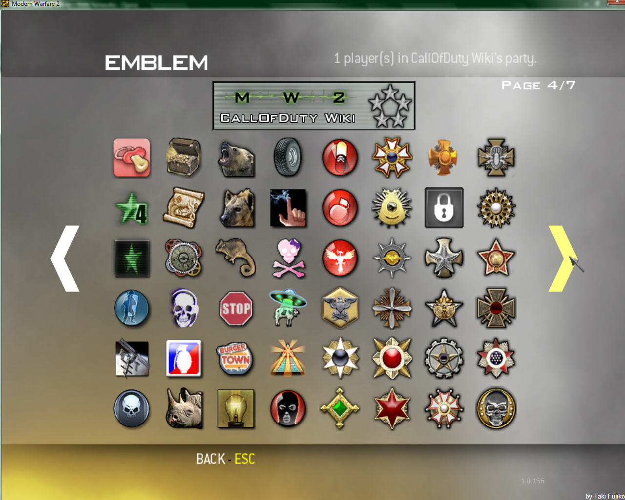 File:EMBLEMS-04.jpg - The Call of Duty Wiki - Modern Warfare, Black ...