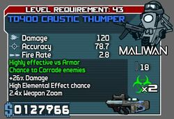 TD400 Caustic Thumper