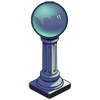 Blue Gazing Ball-icon