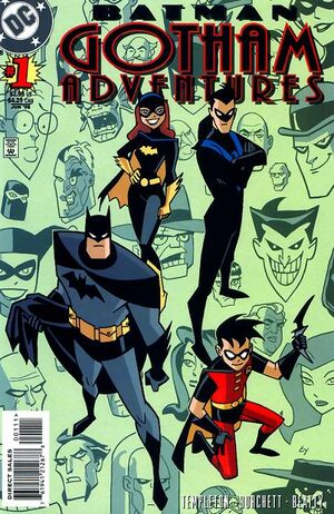 Cover for Batman: Gotham Adventures #1