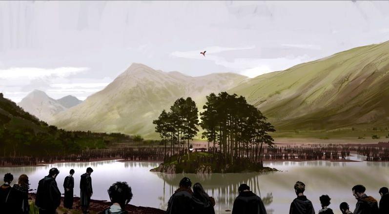 [Jour 3] Jeux d'influence et flatulences Albus_Dumbledore%27s_Funeral_-_2nd_Concept_Artwork