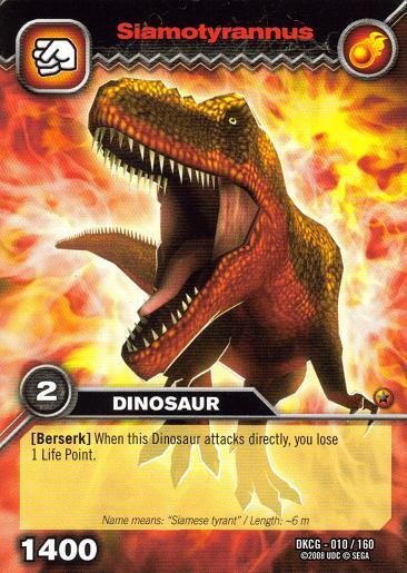 Image - Siamotyrannus TCG card.jpg - Dinosaur King
