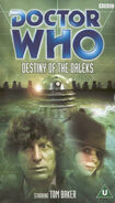 Destiny of the daleks rerelease uk vhs