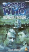 Resurrection of the daleks rerelease uk vhs
