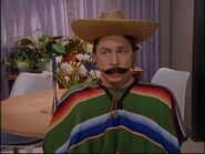 5x13 JD dressed as a Mexican