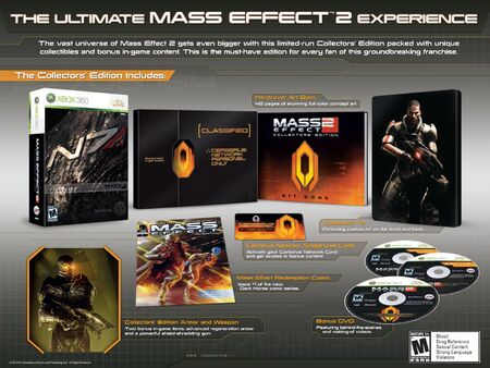 Mass Effect 2 Collectors Edition Contents