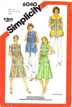 Simplicity - Vintage Sewing Patterns