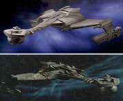 Klingon warbirds concept designs