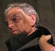 Victor Garber Klingon makeup