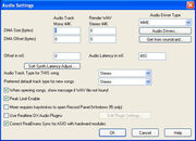 Audio Settings Dlg