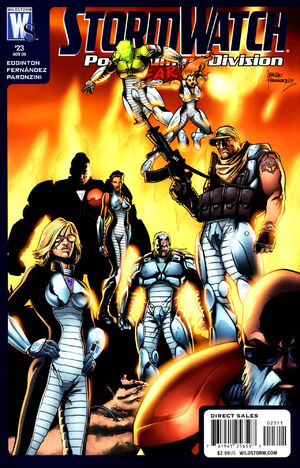 Cover for Stormwatch: Post Human Division #23