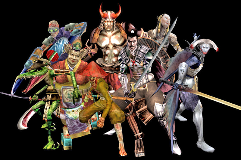 Skiinmode Oni Warrior Blogspot: Onimusha Wiki