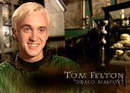 Tom Felton (Draco Malfoy) HP6 screenshot