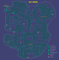 Old Haven Map