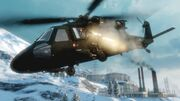 BFBC 2 Black Hawk Helicopter