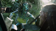 Neytiri fights quaritch 2