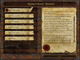 Chanter's board