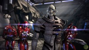 Saren Geth Troopers Virmire