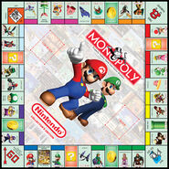 NintendoMonopolyBoard