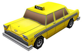 Cabbie-GTACW-papercraft