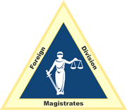 Seal of the Magistrates of the Foreign Division