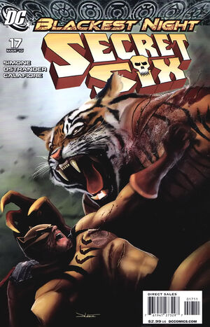 Cover for Secret Six #17